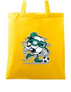 Sacosa din panza Street Soccer Galben