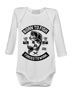 Baby body Born To Fish Alb