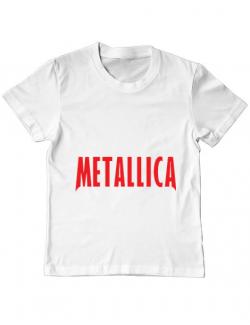 Tricou ADLER copil Metallica 2 Alb