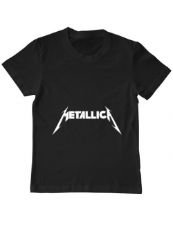 Tricou ADLER copil Metallica Negru
