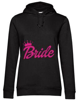 Hoodie Mireasa B&C Barbie Bride Negru