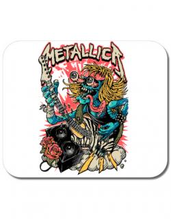 Mousepad personalizat Heavy Guitar Alb