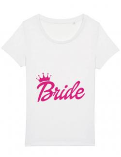 Tricou STANLEY STELLA dama Barbie Bride Alb