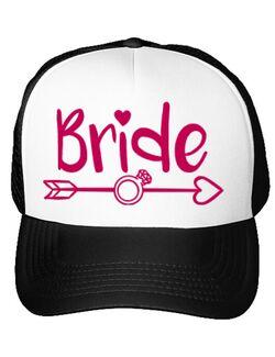 Sapca personalizata Mireasa Bride Alb