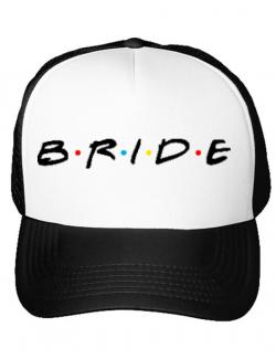 Sapca personalizata Bride friends Alb
