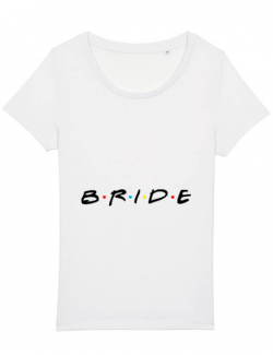 Tricou STANLEY STELLA dama Bride friends Alb