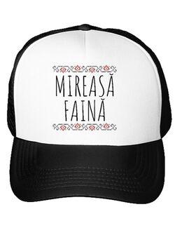 Sapca personalizata Mireasa  Mireasa faina Alb