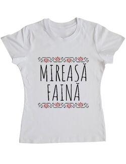 Tricou Mireasa ADLER Mireasa faina Alb