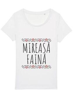 Tricou Mireasa STANLEY STELLA Mireasa faina Alb