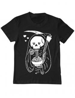 Tricou ADLER copil Ramen Reaper Negru