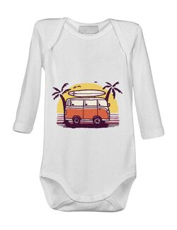 Baby body Sunset Van Alb