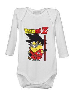 Baby body Despicaball Z Son Goku Alb