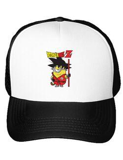 Sapca personalizata Despicaball Z Son Goku Alb