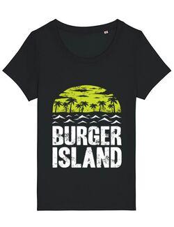 Tricou STANLEY STELLA dama Burger island Negru