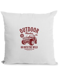 Perna personalizata Outdoor Adventure Alb