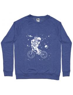 Bluza ADLER barbat Astronaut Bmx Albastru melanj
