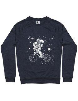 Bluza ADLER barbat Astronaut Bmx Denim inchis