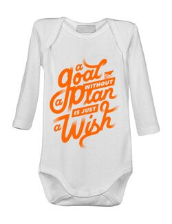 Baby body A Goal Without a Plan is Just a Wish Alb
