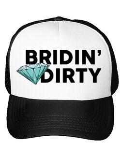 Sapca personalizata Mireasa Bridin dirty Alb