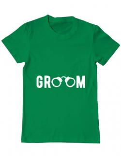 Tricou ADLER barbat Groom Verde mediu