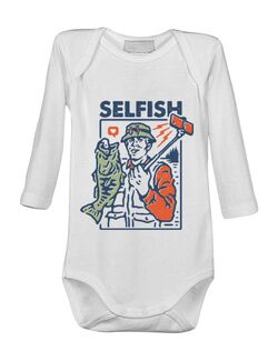 Baby body SELFISH Alb