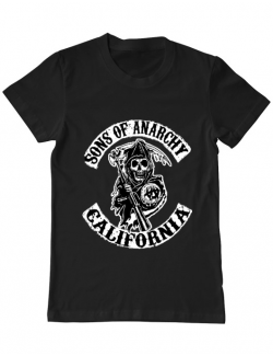 Tricou ADLER barbat Sons of anarchy Negru
