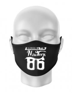 Masca personalizata reutilizabila Brooklyn Negru