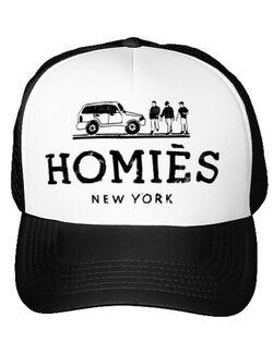 Sapca personalizata Homies Alb