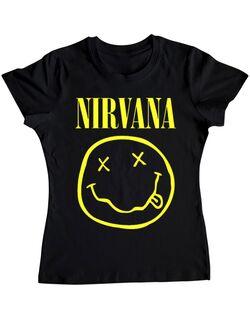 Tricou ADLER dama Nirvana Negru