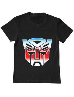 Tricou ADLER copil Transformers Negru