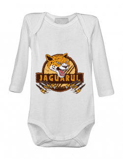 Baby body Jaguarul Alb