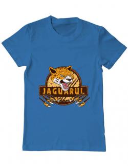 Tricou ADLER barbat Jaguarul Albastru azuriu