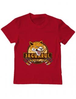 Tricou ADLER copil Jaguarul Rosu
