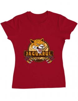 Tricou ADLER dama Jaguarul Rosu