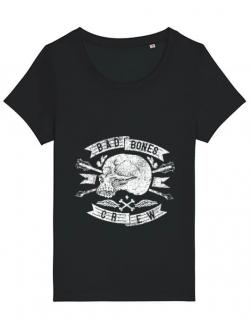 Tricou STANLEY STELLA dama Skull symbol Negru