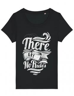 Tricou STANLEY STELLA dama There are no rules Negru