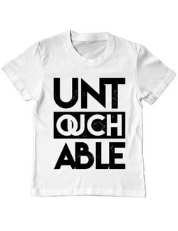 Tricou ADLER copil Untouchable Alb