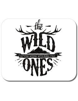 Mousepad personalizat The Wild Ones Alb