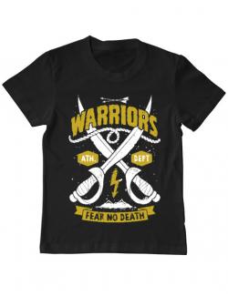 Tricou ADLER copil Warriors Negru