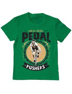 Tricou ADLER copil Pedal pushers Verde mediu