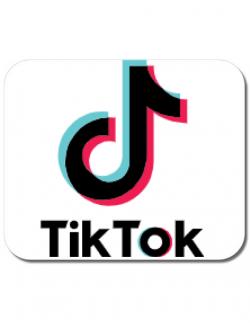 Mousepad personalizat Tik Tok Alb