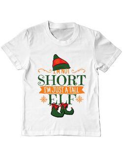 Tricou ADLER copil Tall Elf Alb