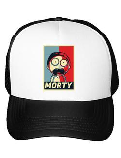 Sapca personalizata Morty Alb