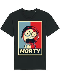 Tricou STANLEY STELLA barbat Morty Negru