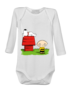 Baby body Stewie and Snoopy Alb