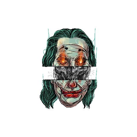 Tricou Joker skull