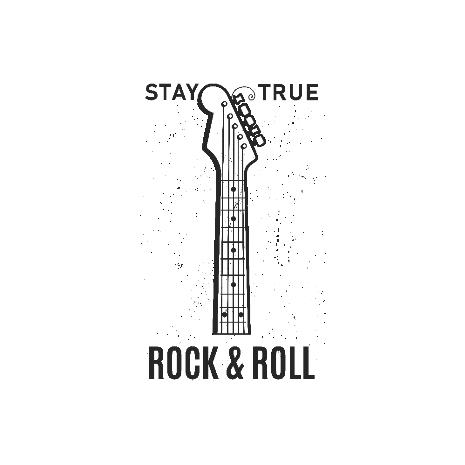 Tricou Rock music - Stay true