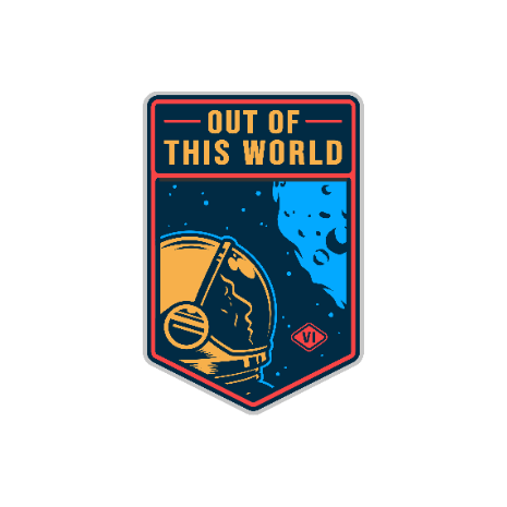 Tricou Out of this world