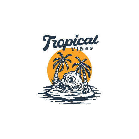 Tricou Tropical Vibes