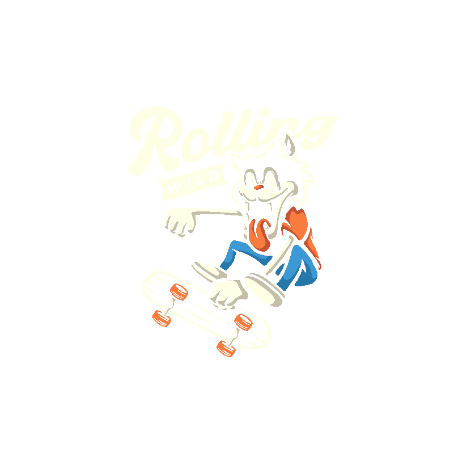 Tricou Rolling Wild